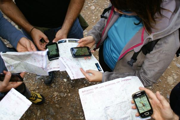 Usando el móvil como GPS con Oruxmaps